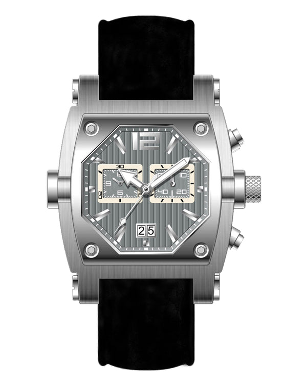 Millage ROGUE Collection Watch M3126 SLS GRAY/GRAY