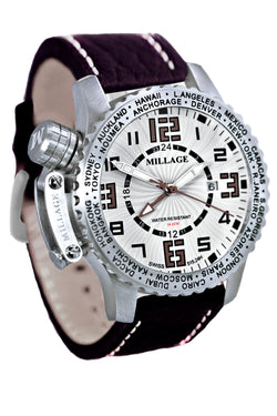 Millage MOSCOW Collection Watch W-BR-BR-LB