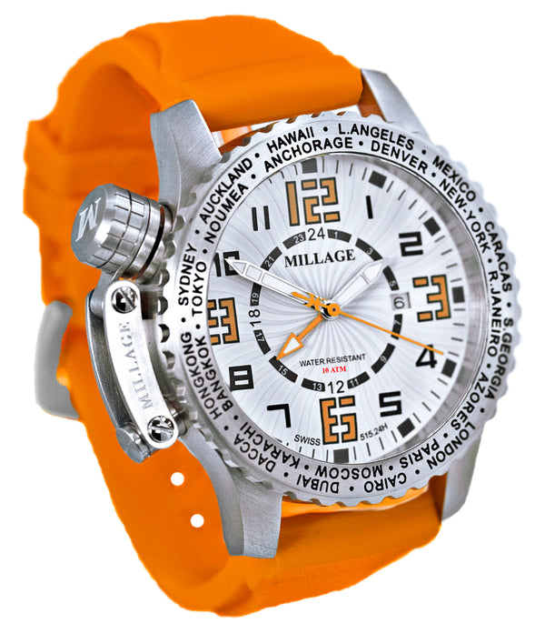Millage MOSCOW Collection Watch W-OR-OR-SL