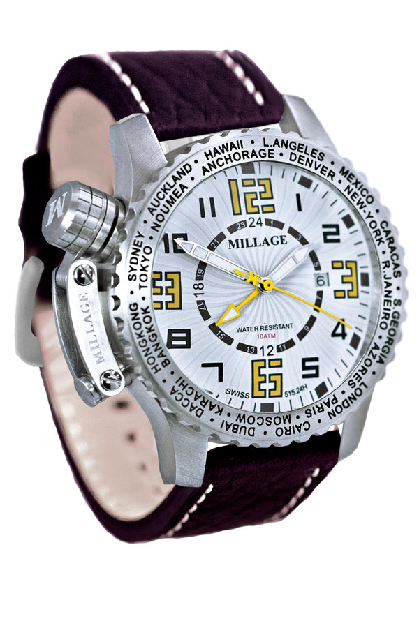 Millage MOSCOW Collection Watch W-Y-BR-LB