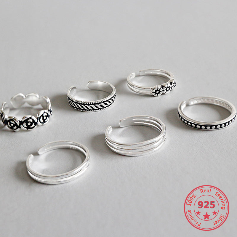 925 Sterling Silver Rings For Women European Original Wedding Fashion Brand Ring Jewelry Gift