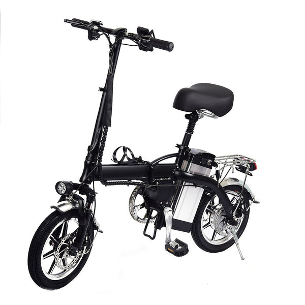 14 inch aluminum alloy material battery bike  fully charged in 3-5 hours 350w high-speed motor Speed is up to 40/h