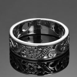 925 Silver Jewelry Rings For Women Anniversary Circle Couple Ring Size 6-10 Wholesale Fine Jewlery Gifts