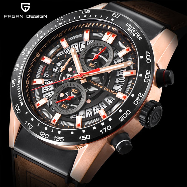 2020 New PAGANI DESIGN Top Luxury Brand Sports Chronograph Men's Watches Waterproof Quartz Watches Clock Relogios Masculino saat