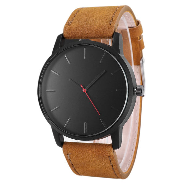 Couple Watch Big Dial Men's Calendar Fashion Simple Business Quartz Matte Belt Watch Women's Clock Bracelet Gifts