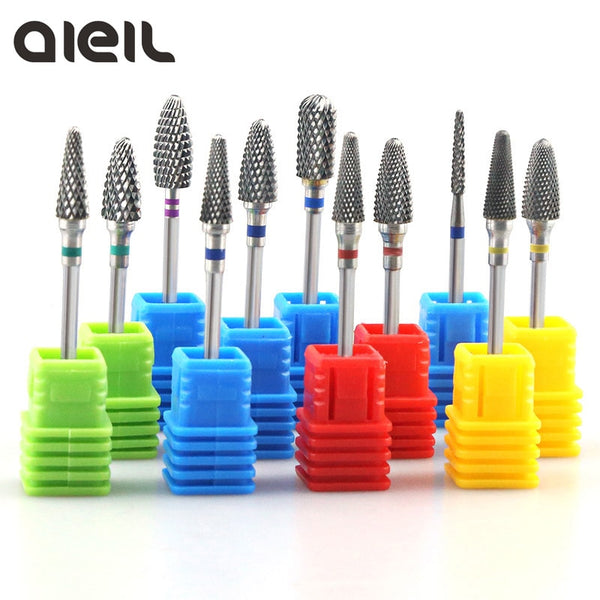 Tungsten Carbide Milling Cutter Burrs Nail Drill Bits Machine Nail Cutter Nail File Manicure For Machine Nail Art Accessories