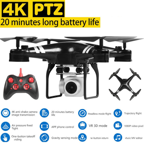 Hot sale Dron Quadrocopter FPV Drones 4K Camera HD Quadcopters With WIFI Camera RC Helicopter Remote Control Toys VS Syma x5c