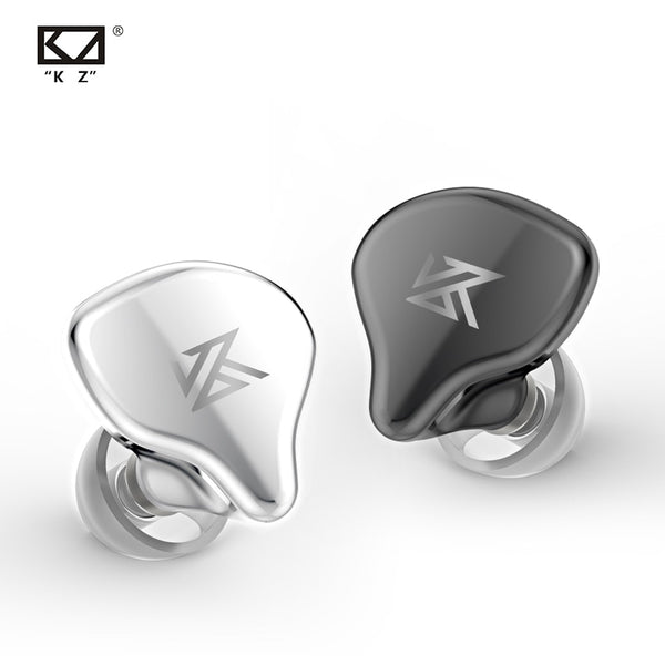 AK KZ S1 S1D TWS True Wireless Earbuds KZ Bluetooth 5.0 Earphone 1BA+1DD Hybrid Portable HIFI Stereo Sport Headset Noise Cancel