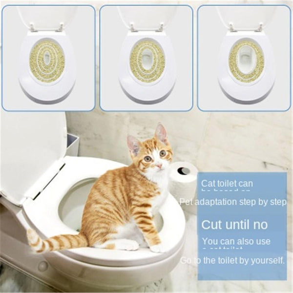 Pet Toilet Bedpan Anti Splash Cats Litter Box Pet Toilet Trainer Puppy Cat Toilet Litter Trainer Cats Ceaning Toilet Supplies