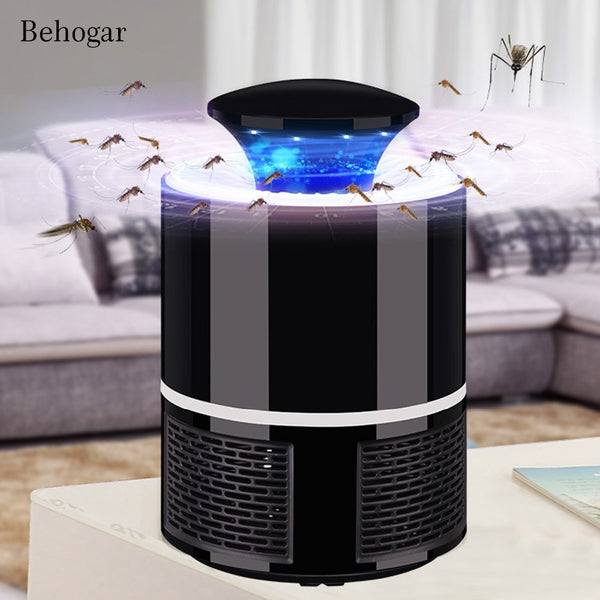 Behogar Electric USB Mosquito Killer Lamp Bug Zapper Insect Lights Anti Moustique Killing Trap Repellent Fly Repellent Catcher