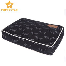 High Quality Pet Dog Bed Soft Sofa Waterproof Dog Bed For Sleeping Small Medium Large Dog Cat Mat With Animal Pattern PY0108
