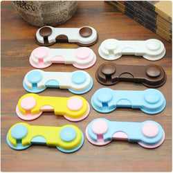 5pcs/ plastic safety lock unit for children baby protection lock safety for refrigerators