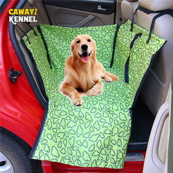 CAWAYI KENNEL Pet Carriers Dog Car Seat Cover Carrying For Dogs Cats Mat Blanket Rear Back Protection Hammock transportin perro