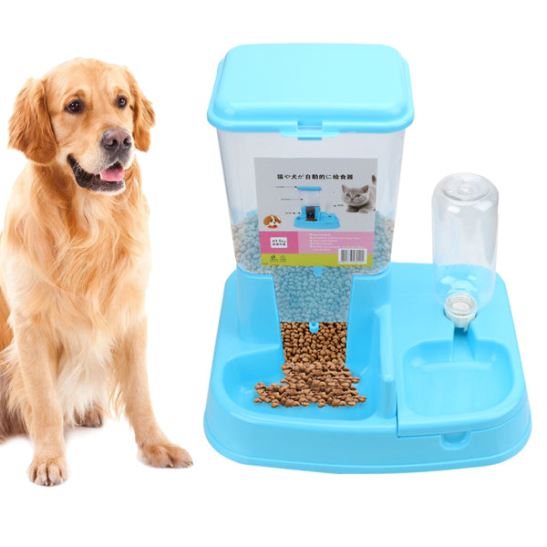 Dog Cat Drinking Bowl For Dog Water Drinking Cat Feeding 1 Set Large Capacity Dispenser  Pet Products Pet Automatic Feeder