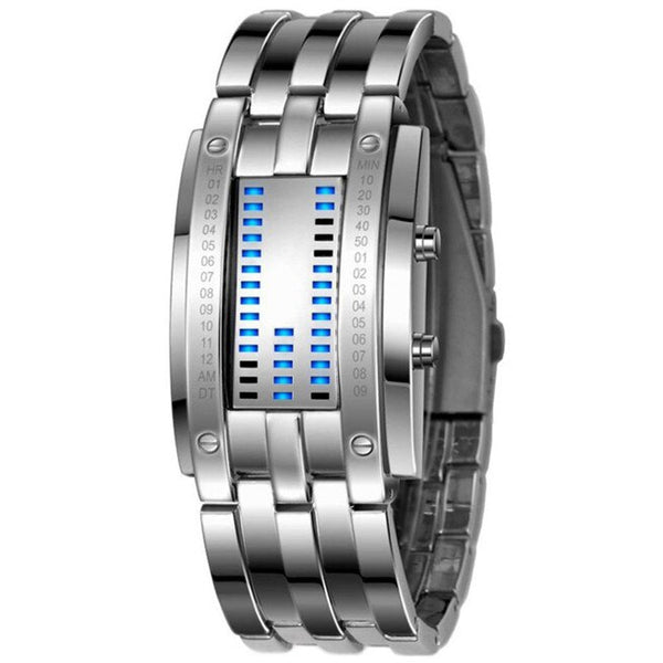 Luxury Women Stainless Steel Date Digital LED Bracelet Sport Watches Female Watches Gifts For Women Watch Woman Watch Clock