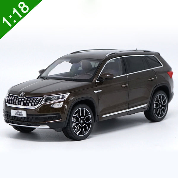 1:18 Skoda KODIAQ Alloy Model Car Static Metal Model Vehicles Original Box For Gifts Collection