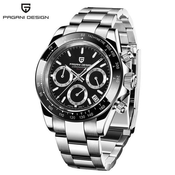 PAGANI DESIGN Men Watch Top Brand Luxury Business Sapphire stainless steel Waterproof Sport Chronograph Watch Relogio Masculino