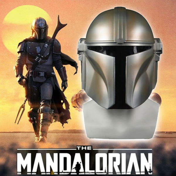 Star Wars Helmet The Mandalorian Cosplay Pedro Pascal Mandalorian Soldier Warrior PVC Helmet Darth Vader Stormtrooper Prop