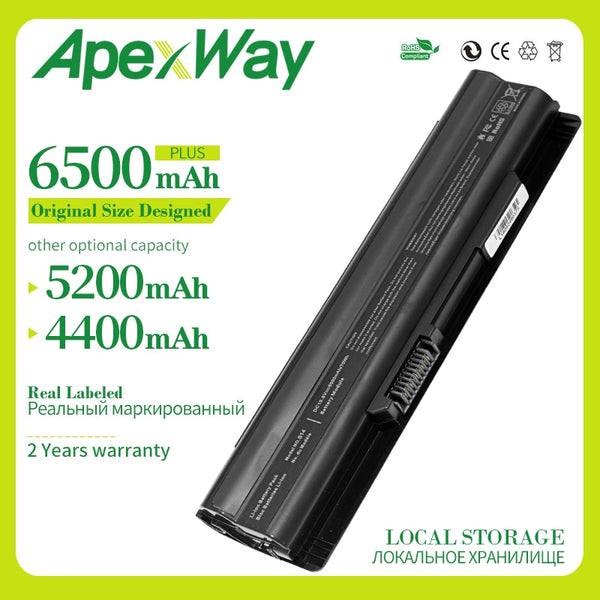 Apexway 6 cells Battery For MSI GE60 GE70 Series CR41 CX61 CR70 BTY-S14 BTY-S15 FR610 FR620 FR700 FX400 FX420 FX60 FX603 FX610