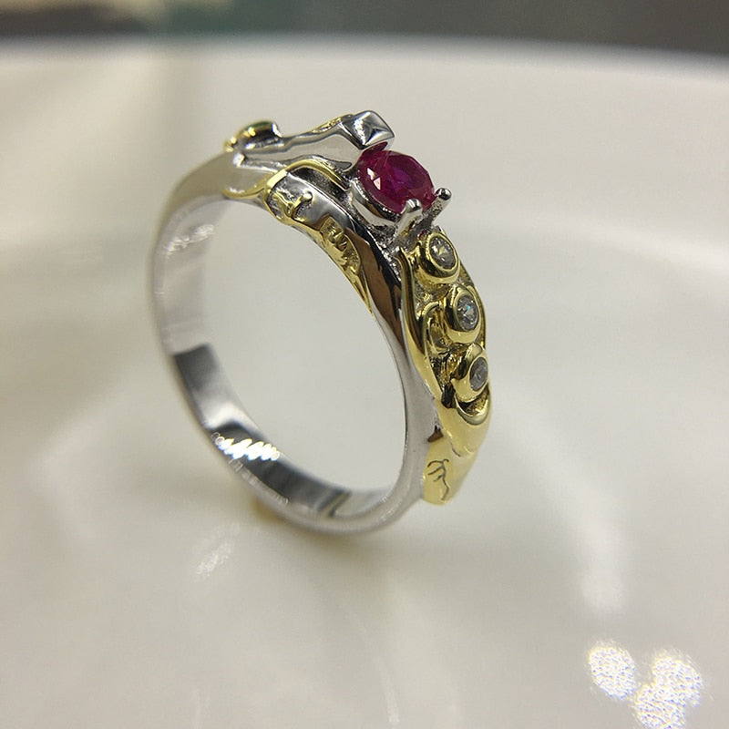 LoL Game Theme Jewelry Ring Khada Jhin 925 Silver Sterling Ring Free Custom Letter