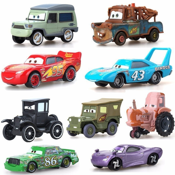 35 Style Disney Pixar Car 3 toy cars McQueen 39 kind 1:55 diecast metal alloy model toy car 2 children birthday Christmas gift
