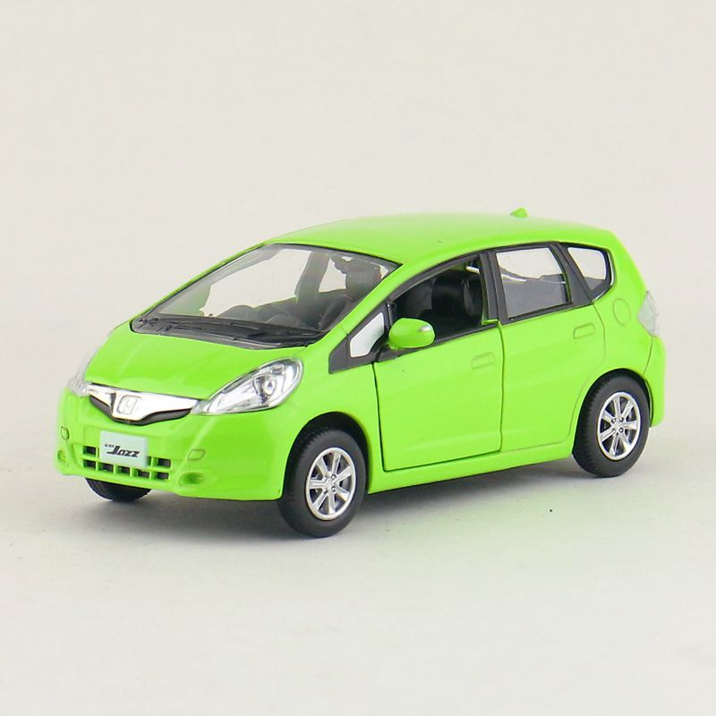 High Simulation Exquisite Diecasts&Toy Vehicles: RMZ city Car Styling Honda Fit Jazz 1:36 Alloy Diecast Car Model Pull Back Cars