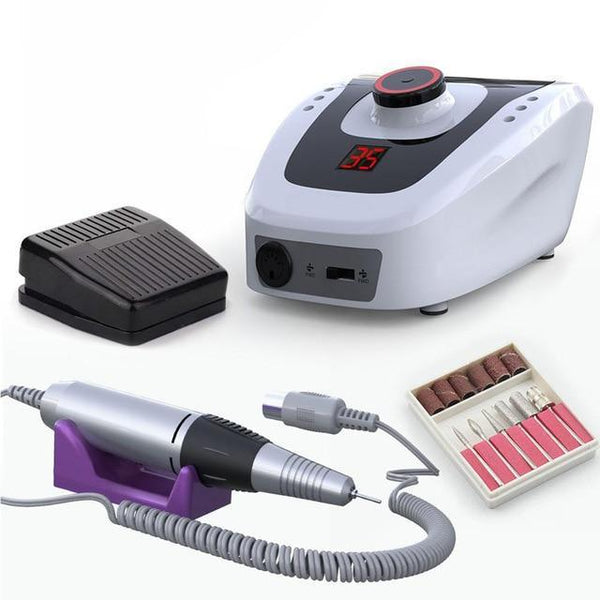 Electric Nail Drill Machine 32W 35000RPM Manicure Machine Milling Cutter For Manicure Pedicure Accessories Nail Art Tool