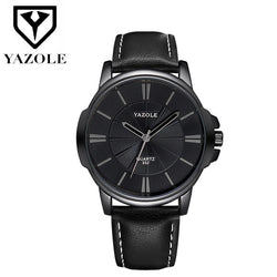 YAZOLE Business Men's Wrist Watch Men Top Brand Luxury Famous Watches For Man Quartz Wristwatch Male Clock Relogio Masculino