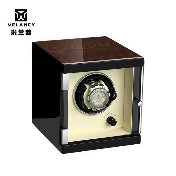Automatic Watch Winder Box Case Holder Mechanical Watch Display Organizer EU/US/AU/UK Plug Luxury Motor Shaker PU