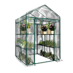 Garden Flower Plants Cover 3 Tier Anti-UV Waterproof Portable PVC Greenhouse LBShipping