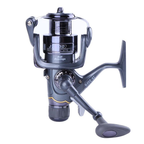 3BB Types Carp Fishing Reel Spinning Reel Carbon Front and Rear Drags Metal Spool Sea Boat Reel Double Knobs Fishing Tools Pesca