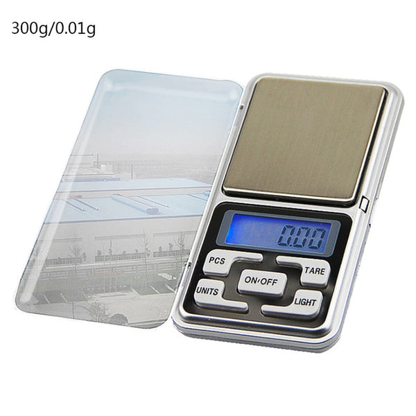 0.01/0.1g LCD Mini Digital Scales 500g/1/2/3kg Precision Electronic Grams Weight Balance Scale Tea Baking Weighing Scale