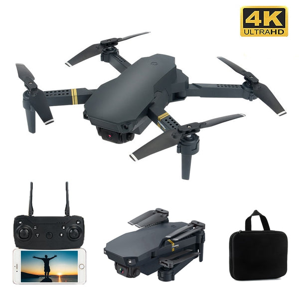 Drone 4K with WIFI FPV HD Wide Angle Camera Quadcopter Optical Flow Rc Dron Gesture Control Foldable Altitude Hold Durable Drone
