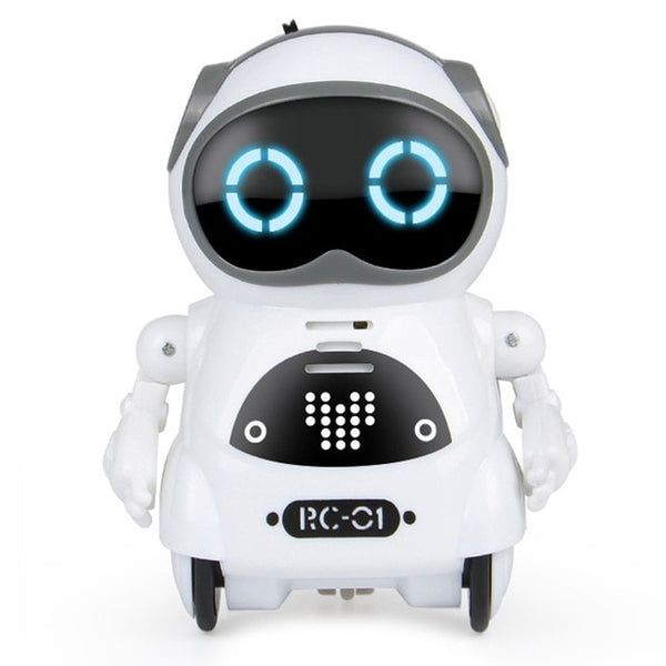 Electric Multifunctional Voice Intelligent Mini Pocket Robot Early Education Interactive Story Robote Story Robot