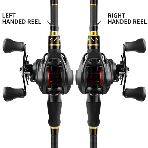 Fishing  BF2000 Baitcasting  High Speed 7.2:1Gear  12+1BB Stainless Steel Handle Line Spool Fishing Accessories