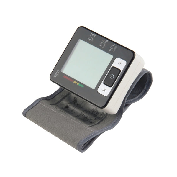 Automatic Wrist Blood Pressure Upper Monitor Digital Heart Beat Meter LCD Screen Tonometer Sphygmomanometers pulsometer hot