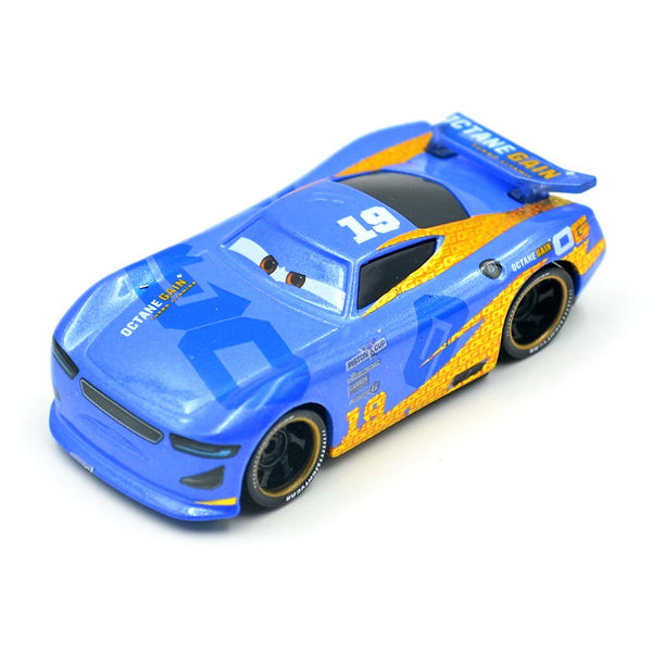 Disney Pixar Cars 3 Racing Center Danny Swervez NO.19 Metal Diecast Toy Car 1:55 Loose Brand New In Stock toys for children