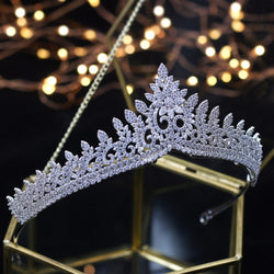 Designer Wedding Tiaras 2020 Crystals Zircon Baroque Bridal Crowns Tocado Novia Bride Hair Jewelry Wedding Hair Accessories