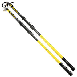2018 design Carbon Fiber Fishing Rod 2.1/2.4/2.7/3.0/3.6M Stream carp Fishing Pole Superhard Telescopic UltraLight spinning Rods