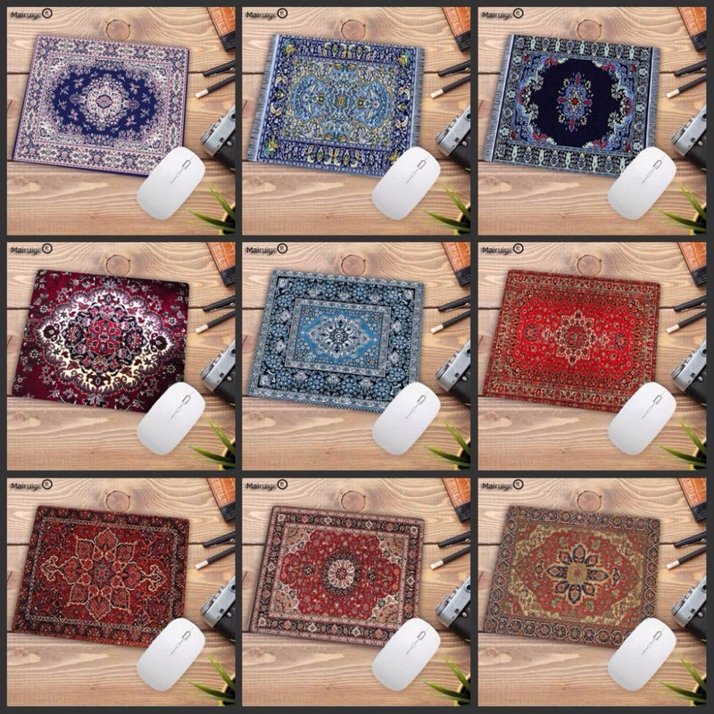 Mairuige Big Promotion Waterproof Persian carpet rubber non-slip laptop gaming Small mouse pad for CSGO dota LOL 220*180*2mm