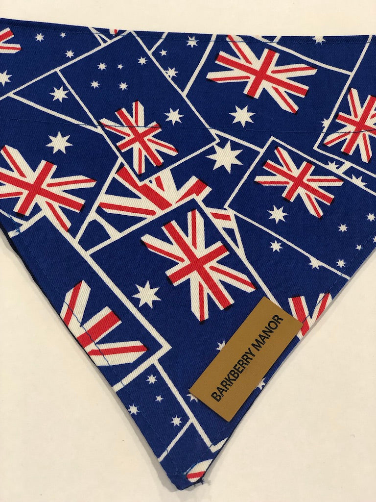 Aussie Flag Bandana | Barkberry Manor