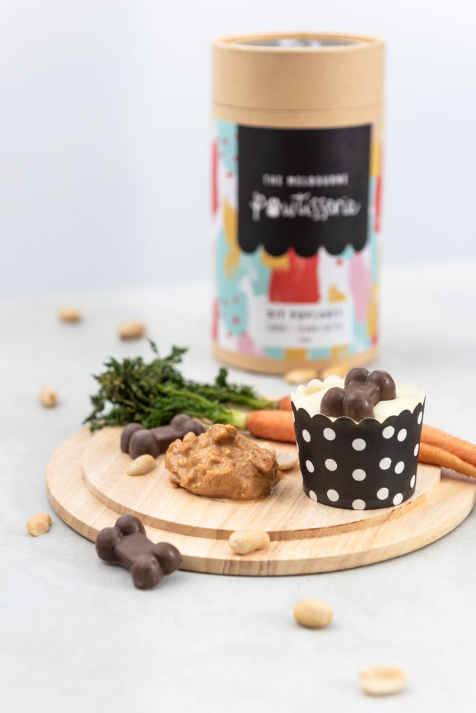Pupcake DIY Kit: Carrot & Peanut Butter | The Melbourne Pawtisserie