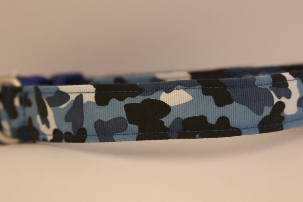 Blue Cam Collar | Barkberry Manor