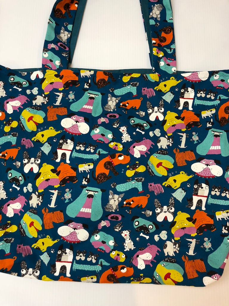 Grumpy Dogs Tote Bag | Barkberry Manor