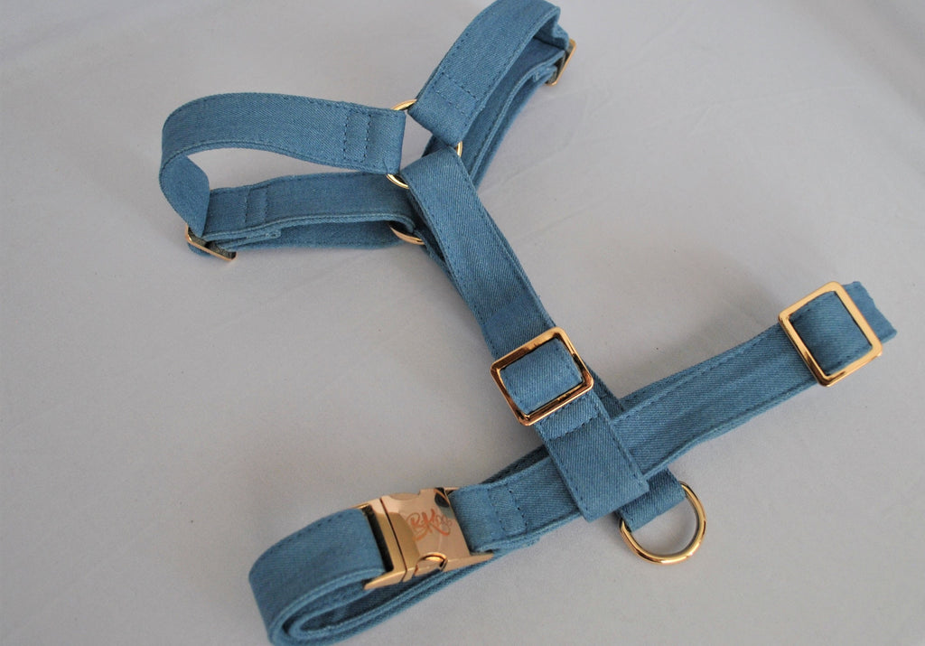 Denim Harness | BK Boutique Pets