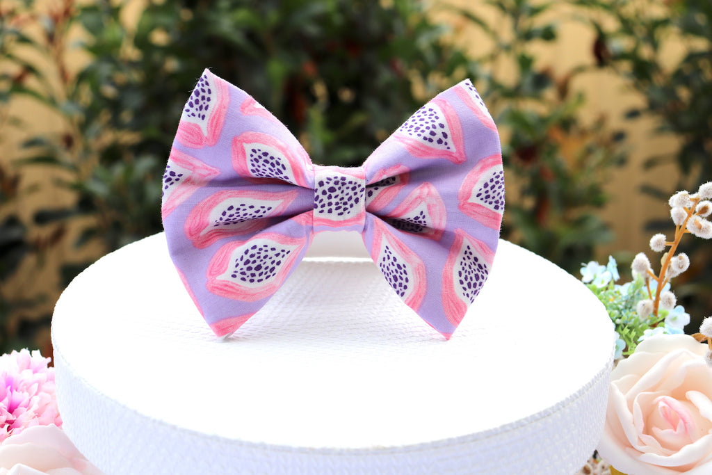 Papaya Plains - Pet Bow Tie | DapperDorable