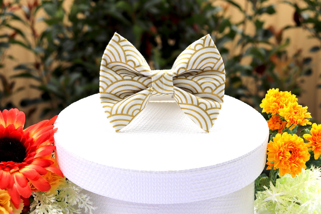 Golden Arch - Pet Bow Tie | DapperDorable