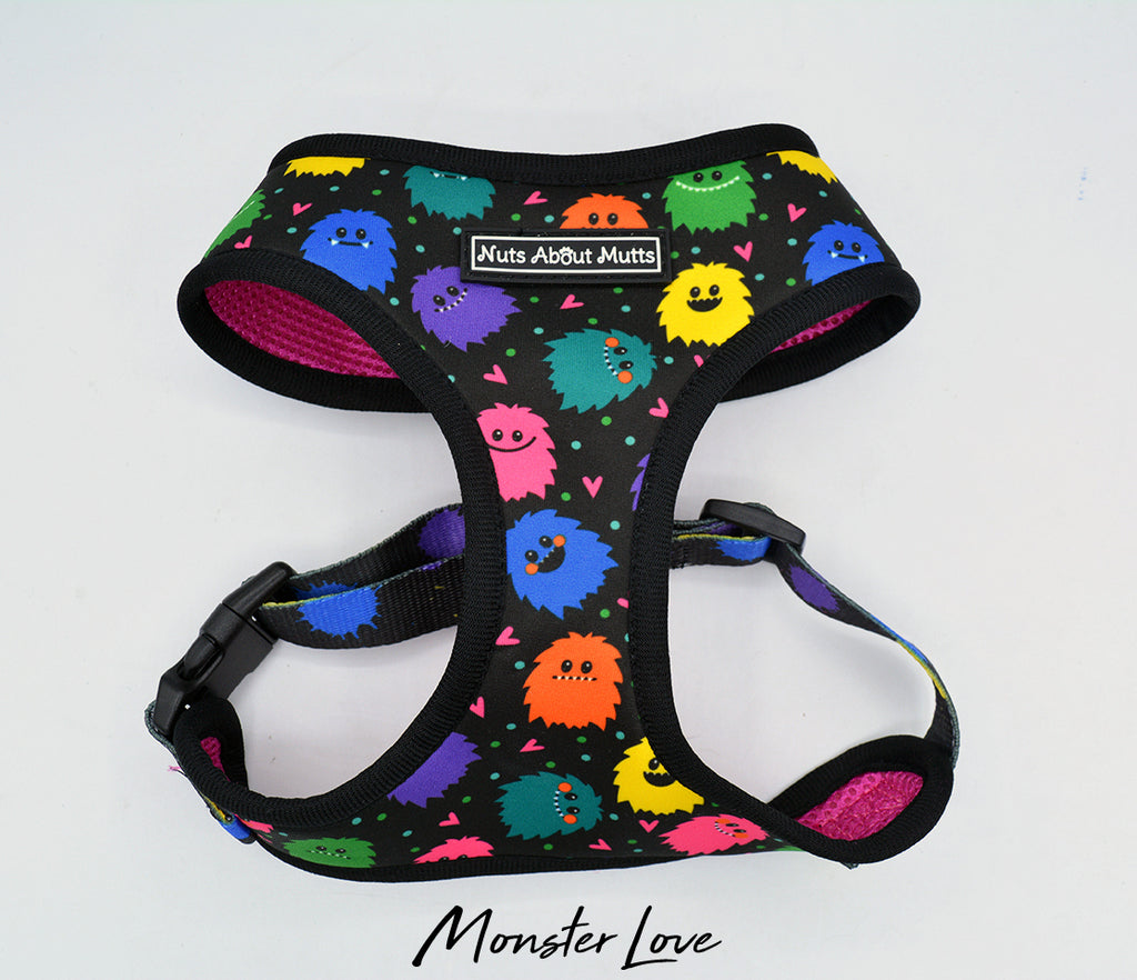 Monster Love Soft Dog Harness | Nuts About Mutts
