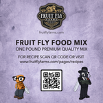 fruit fly food