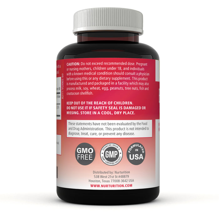 Vitamin B12 5000 - 60 Tablets - (Methylcobalamin B12) - Best Vitamin B12 supplement - Non-GMO - helps to release energy from food